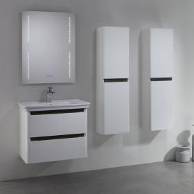 Tavistock Equate White & Grey Oak 700mm Wall Mounted Unit & Basin