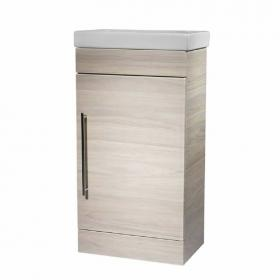 Roper Rhodes Esta Light Elm 460mm Freestanding Unit & Basin