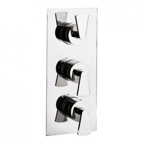 Crosswater Essence Thermostatic Shower Valve With 3 Way Diverter