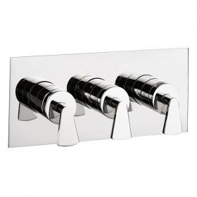 Crosswater Essence Thermostatic Landscape Shower Valve - 3 Control