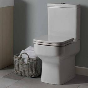 Roper Rhodes Geo Close Coupled WC, Cistern & Soft Close Seat