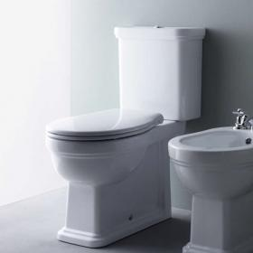 GSI Classic Close Coupled WC, Cistern & Soft Close Seat