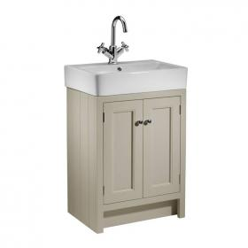 Roper Rhodes Hampton Mocha 600mm Countertop Unit & Basin