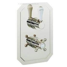 Crosswater Belgravia Lever Nickel 1500 Thermostatic Shower Valve