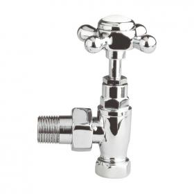 Hudson Reed Angled Cross Top Radiator Valves