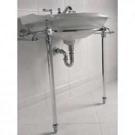 Imperial Hardwick Oxford Large Basin Stand with Glass Legs