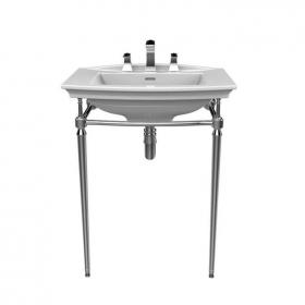 Heritage Blenheim Basin & Abingdon Washstand Chrome