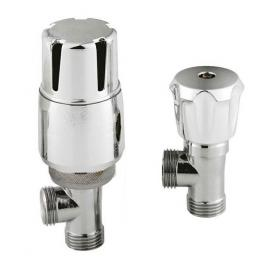 Hudson Reed Angled Thermostatic Radiator Valves