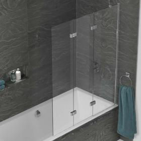 Kudos Inspire Three Panel In-Fold Bath Screen