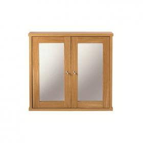 Imperial Linea Wall Cabinet With 2 Mirror Glass Doors