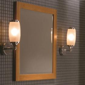 Imperial Toledo Single Wall Light With Glass Shade