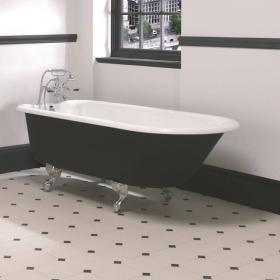 Imperial Waldorf Single Ended Cast Iron Bath