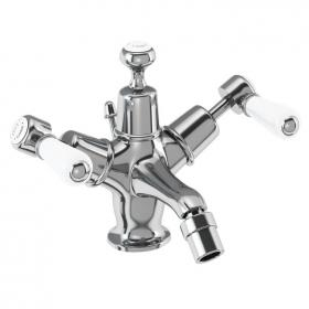 Burlington Kensington Bidet Mixer With High or Low Indice & Waste