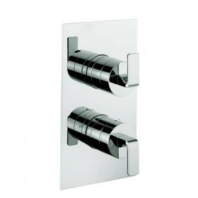 Crosswater Kelly Hoppen Zero 1 Thermostatic Shower Valve With 3 Way Diverter