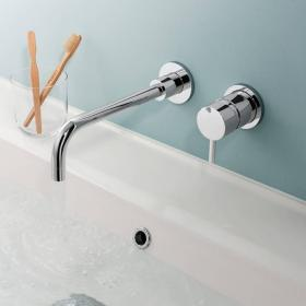 Crosswater Kai Lever Basin 2 Hole Set
