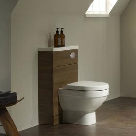 Tavistock Kobe 500mm Walnut Back To Wall WC Unit