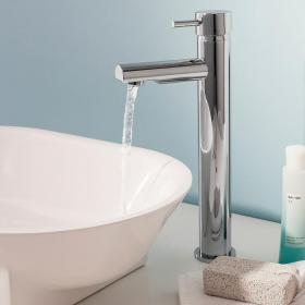 Crosswater Kai Tall Basin Monobloc With Fixed Spout