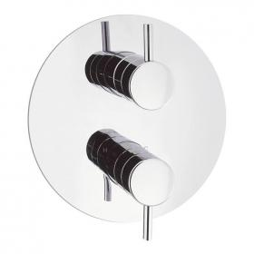 Crosswater Kai Lever Round Thermostatic Shower Valve