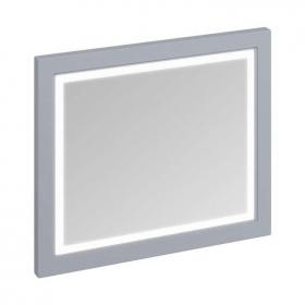 Burlington Grey Framed Mirror With LED Illumination