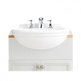 Heritage Claverton Medium Semi Recessed Basin