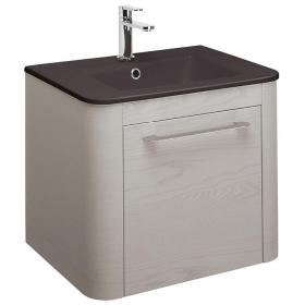 Bauhaus Celeste 600mm Pebble Vanity Unit & Plus+Ton Basin