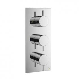 Crosswater Mike Pro Thermostatic Bath Shower Valve