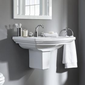 Imperial Radcliffe Large 685mm Basin & Semi Pedestal