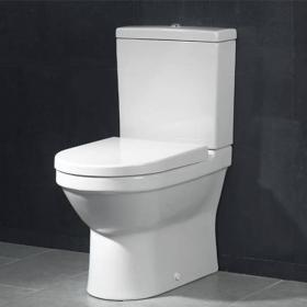 Vitra S50 Compact Back To Wall Close Coupled WC, Cistern & Seat