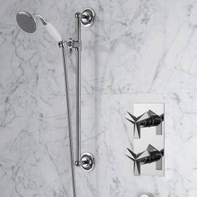 Heritage Hemsby Dual Control Recessed Shower Valve With Adjustable Riser