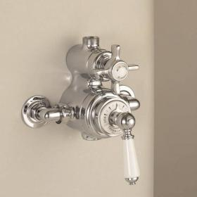 St James Exposed Thermostatic Shower Valve - England Handle- SJ740.410