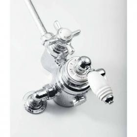St James Exposed Thermostatic Shower Valve - England Handle