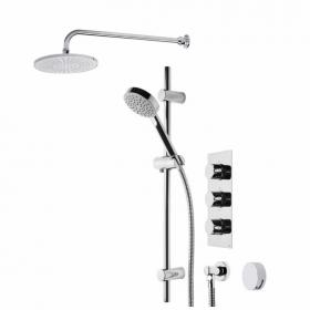 Roper Rhodes Event Round Dual Function Shower System With Head