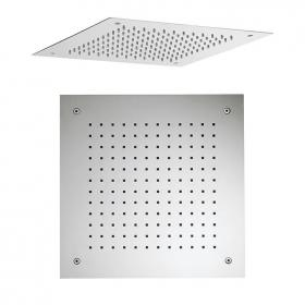 Crosswater Square 380mm Recessed Shower Head