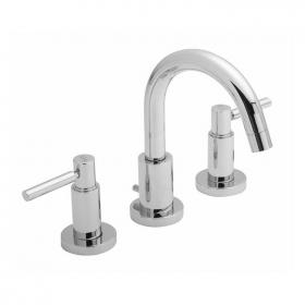 Hudson Reed Tec Lever 3 Tap Hole Basin Mixer