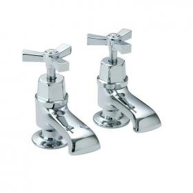 Heritage Gracechurch Bath Pillar Taps