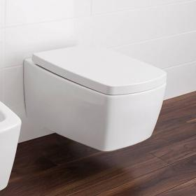 Bauhaus Touch Wall Hung WC & Soft Closing Seat