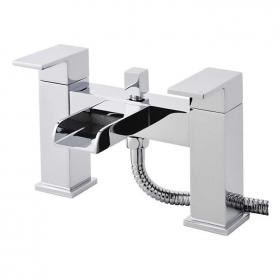 Hudson Reed Strike Open Spout Bath Shower Mixer With Kit