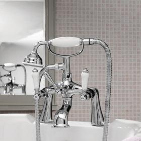 Ultra Bloomsbury Bath Shower Mixer With Kit