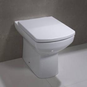 Tavistock Vibe Back To Wall Toilet & Seat