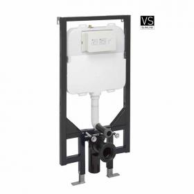 Bauhaus Ultra Slim 1.18 Wall Hung WC Support Frame & Cistern
