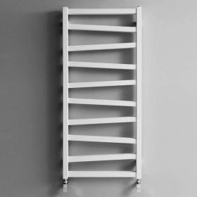 Bauhaus Wedge 500mm Soft White Matte Towel Rail