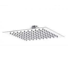 Hudson Reed Slim 200mm Stainless Steel Square Fixed Shower Head