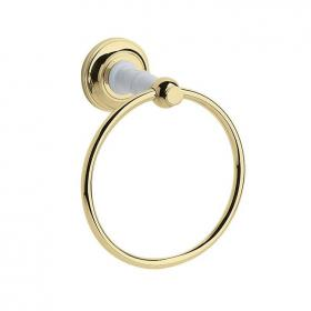 Heritage Clifton Vintage Gold Towel Ring