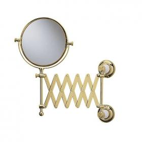 Heritage Clifton Vintage Gold Extendable Mirror