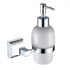 Heritage Chancery Chrome Soap Dispenser