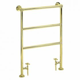 Heritage Victorian Vintage Gold Heated Towel Rail