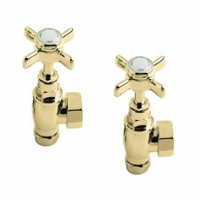 Heritage Traditional Vintage Gold Radiator Valves