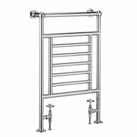 Heritage Winchester Chrome Heated Towel Rail