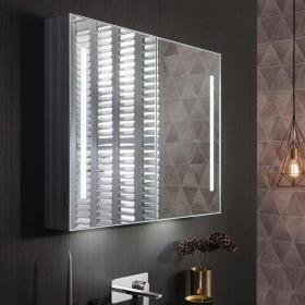 Bauhaus Allure 900 LED Illuminated Mirror Cabinet