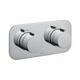 Vado Altitude Twin Outlet Landscape Thermostatic Shower Valve